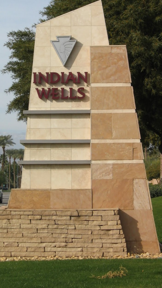 Indian Wells CA sign