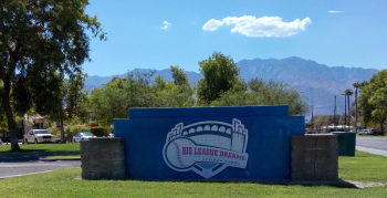 Big League Dreams Sign Cathedral City CA