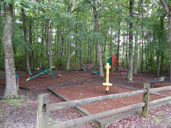 Lake Wilderness, Virginia play area for kids