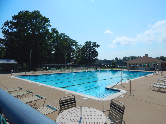 Swimming pool in locust grove, va