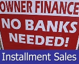 Installment Sales in South Jersey, Owner/Seller Financing