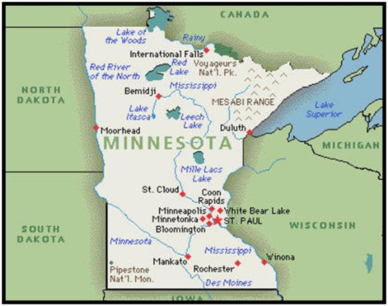Minnesota Real Estate REMAX MN Homes For Sale MLS Listings - Map of minnesota cities