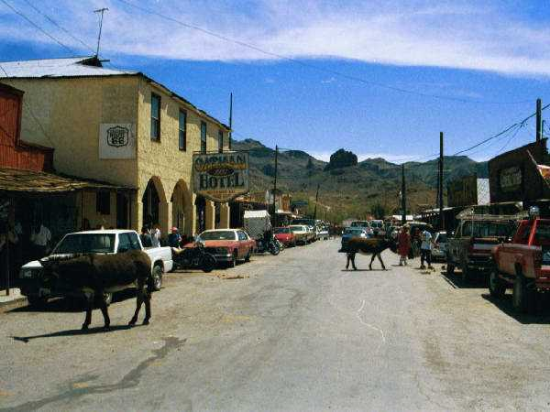 Oatman Arizona | Ghost Town