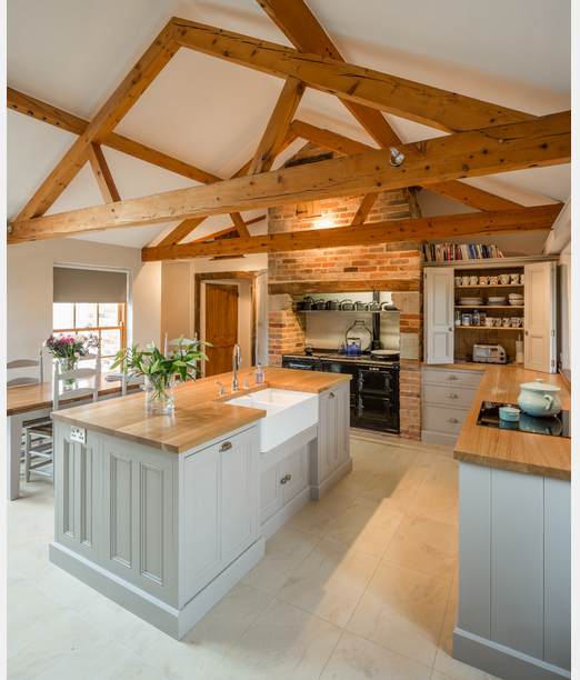 With An Open Beam Ceiling, You Can Also Have Sky Lights In Between The Beams  To Let In The Natural Light. And Also There Are Different Types Of Lighting  ...