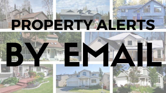 Email property alerts