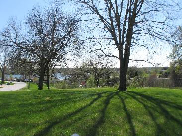 corner of Milford and Dunbar