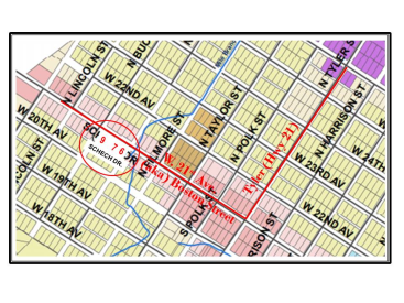W. 21st Ave., Lot 9