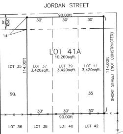 JORDAN ST., Mandeville, LA 70448