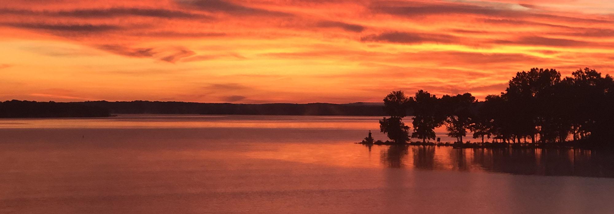 LakeWatereeSunset