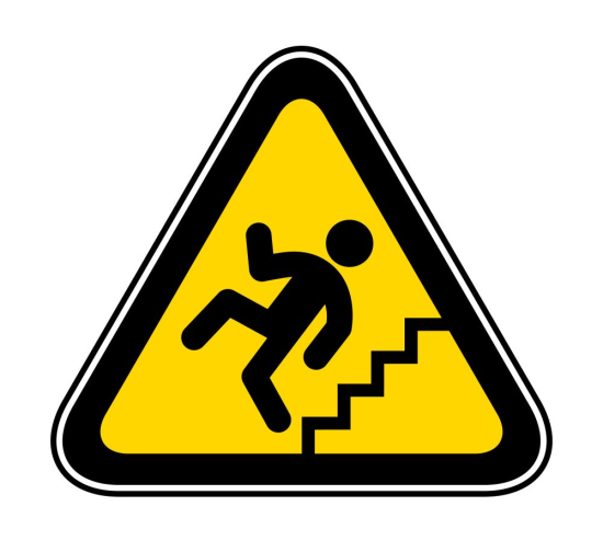 Home Safety Fall Hazard Image