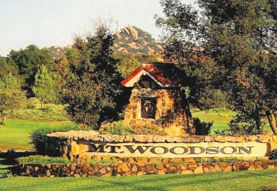 Mt. Woodson Estates
