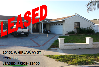 10451 Whirlaway St, Cypress, Ca 90630
